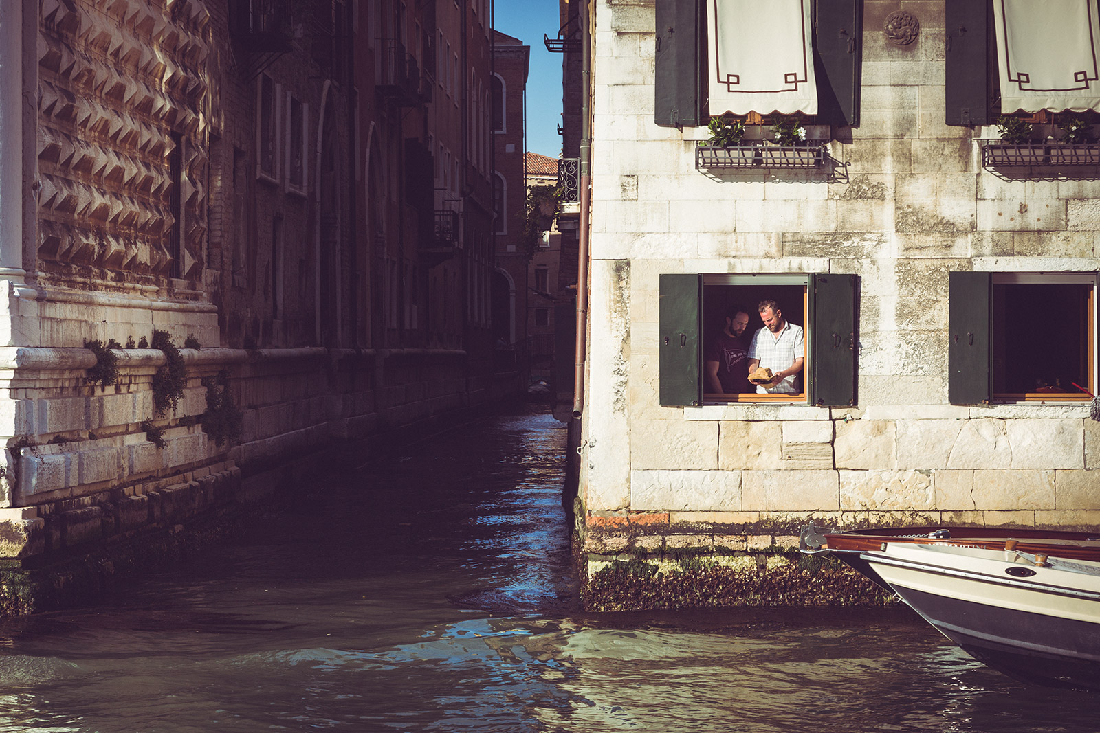 Stories of every day life. Venezia, Gran Canal