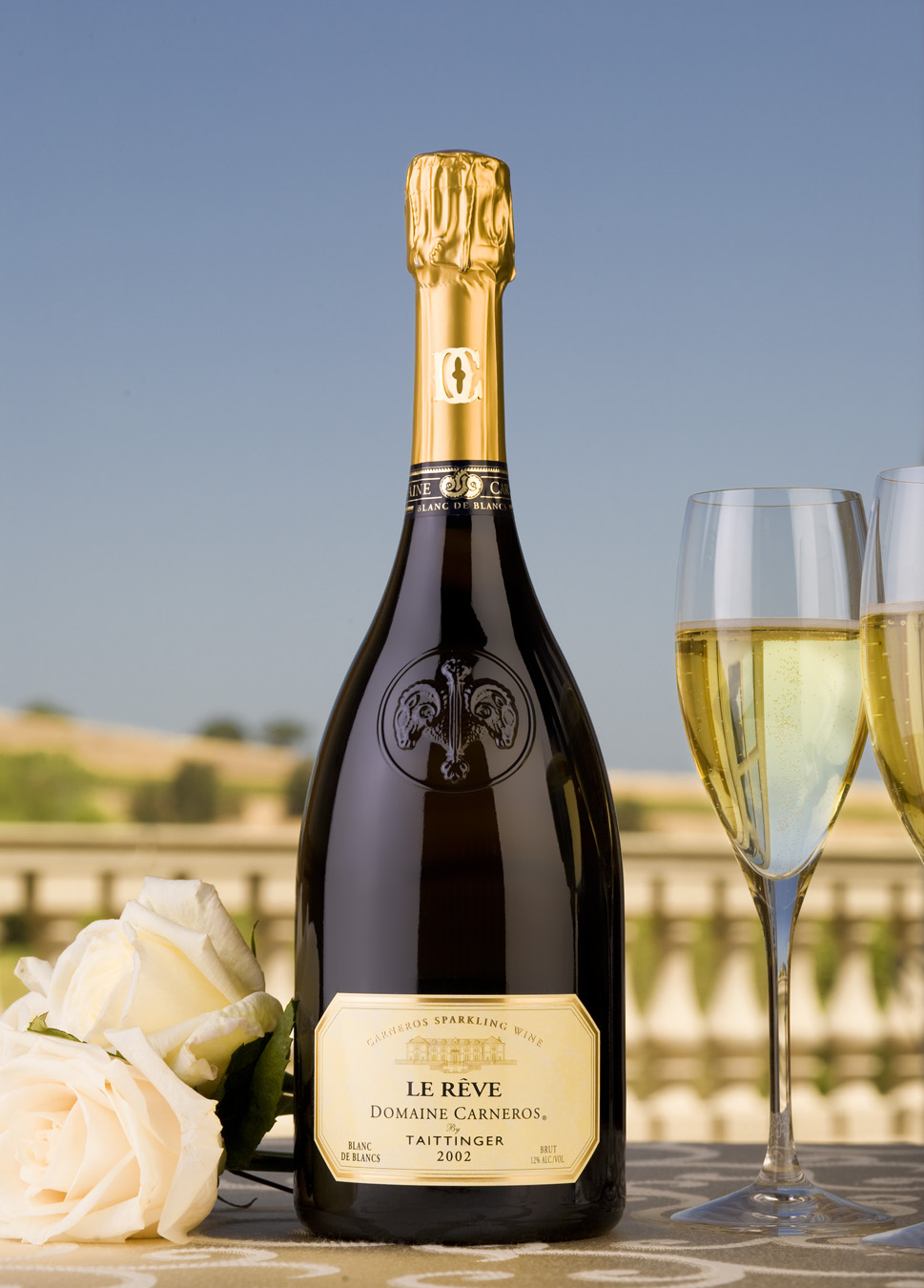 Domaine Carneros Brut. Carneros California