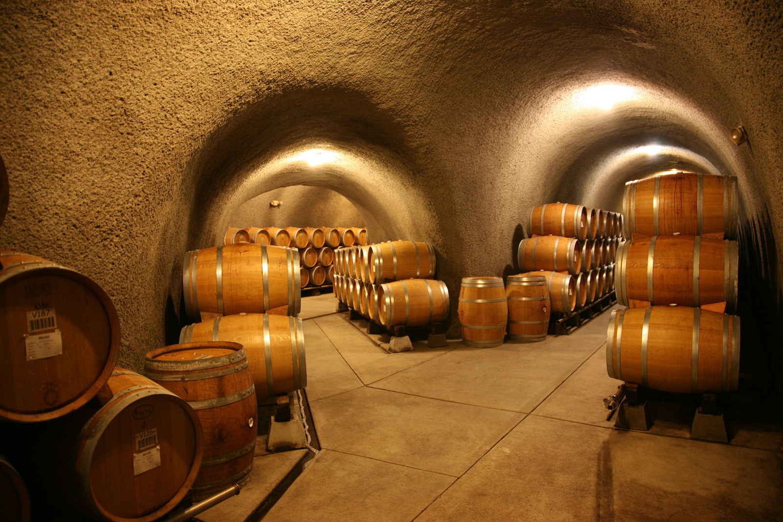 Gundlach Bundschu Winery, Caves