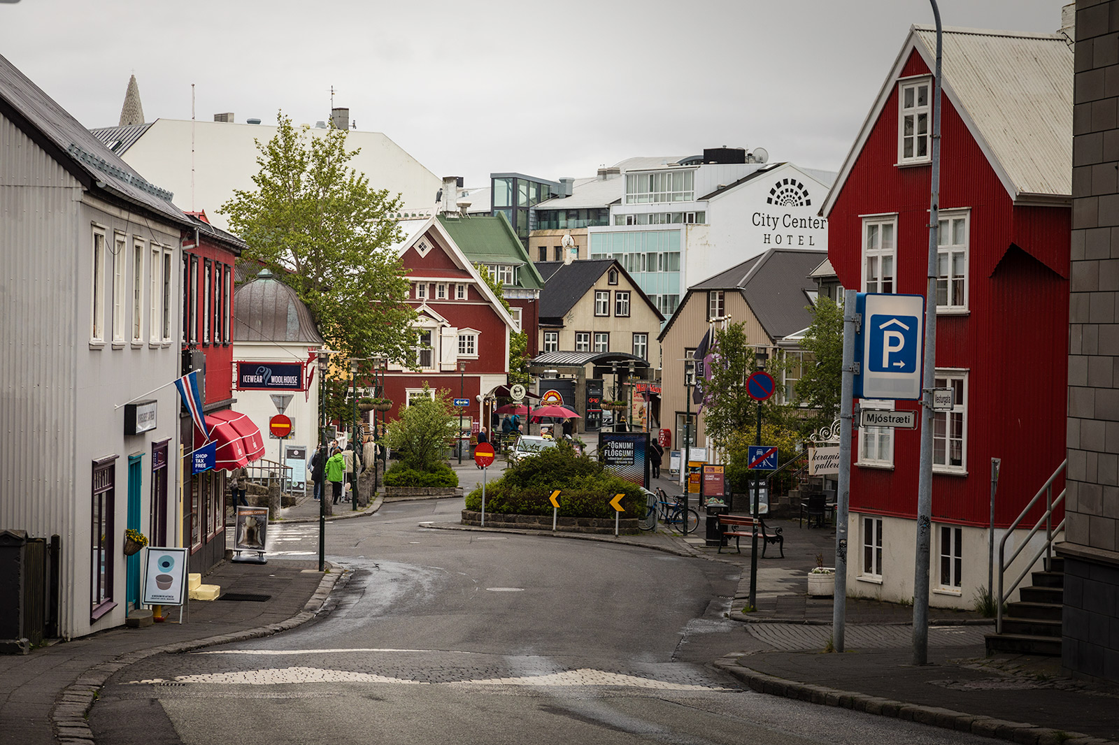 Reykjavik in the Summertime
