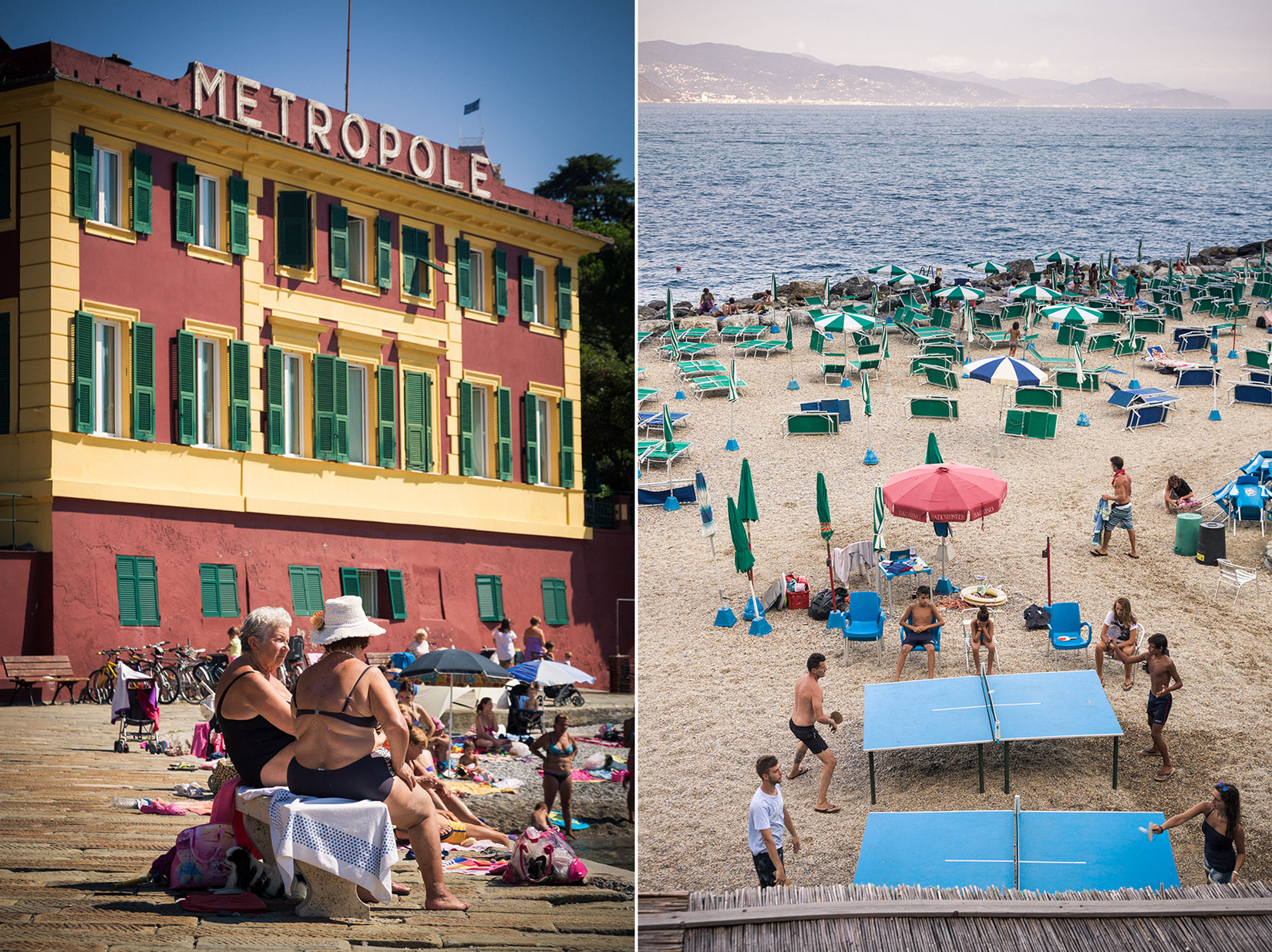 Santa Margherita Ligure. Summertime