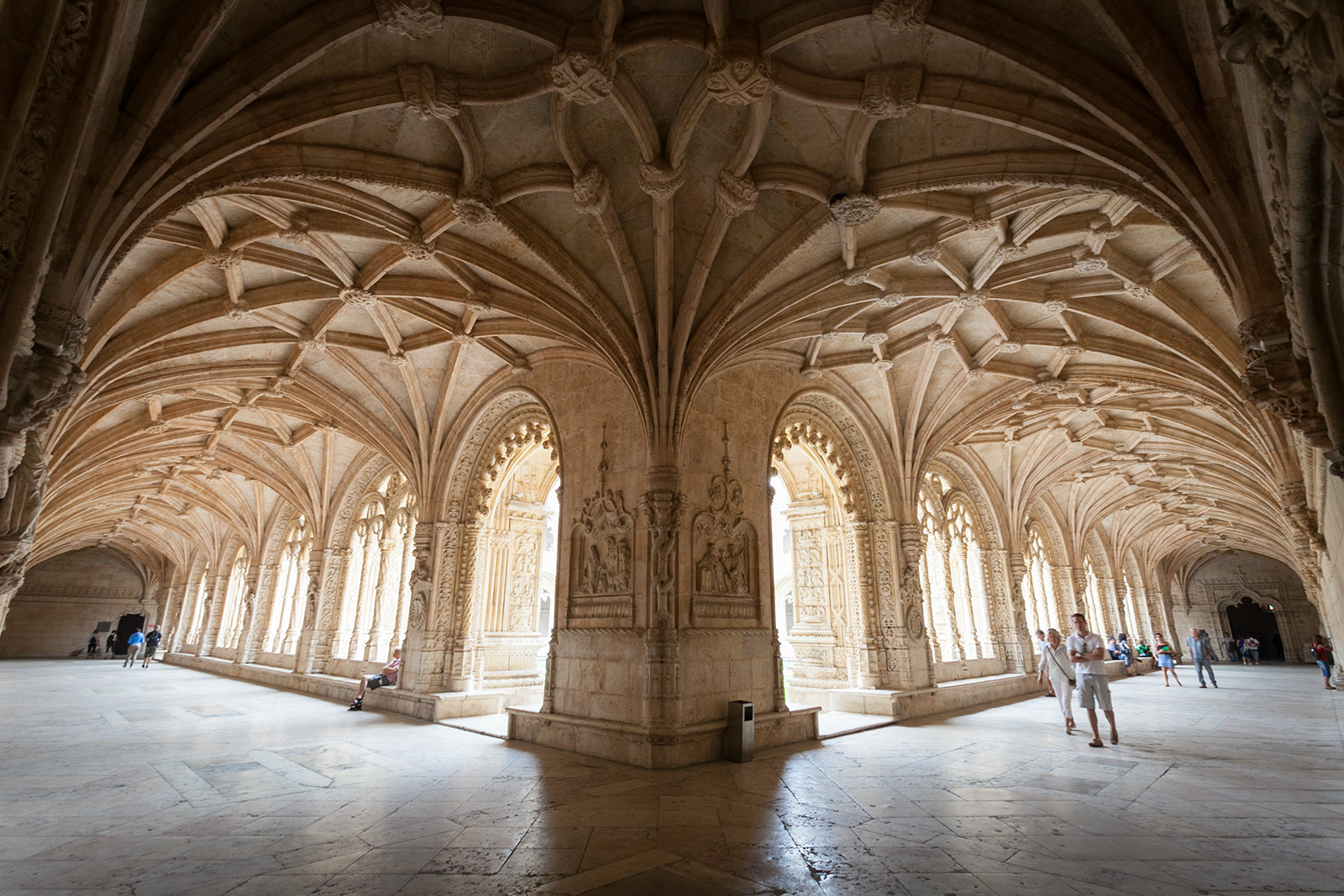 Jeronimos Monastery in Lisbon. Amazing Architecture