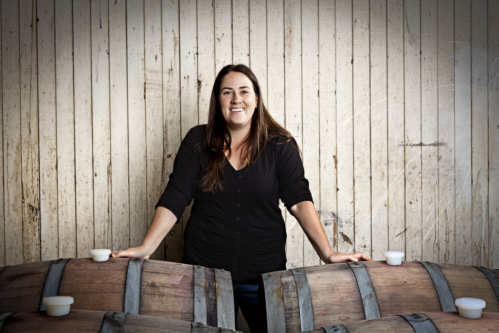 Natalie West Winemaker: Rocco Studio Photography