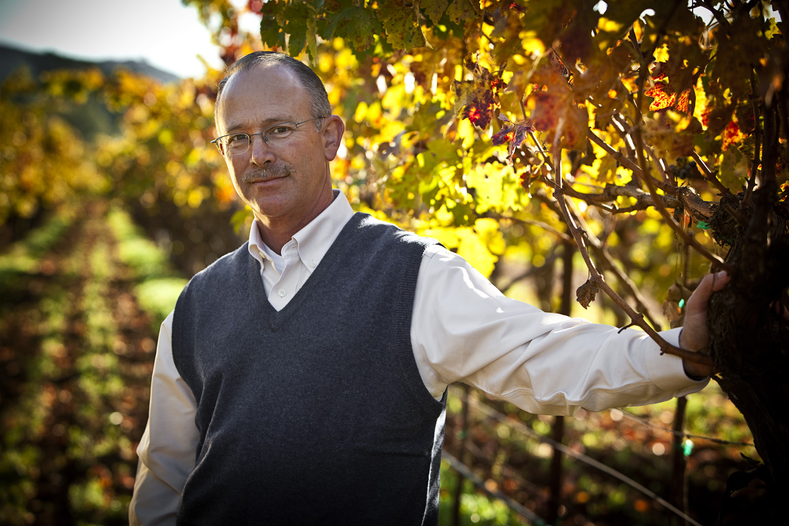 Paul Bergna Vineyard Manager: Rocco Studio Photography