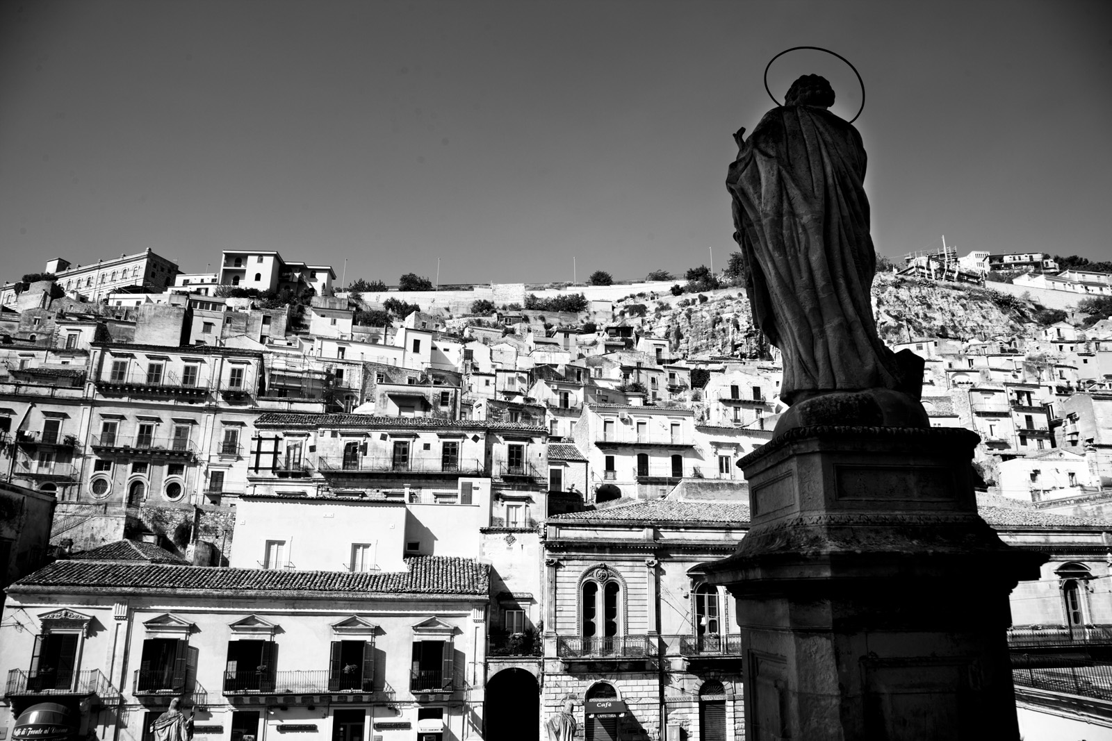 Modica from the Duomo
