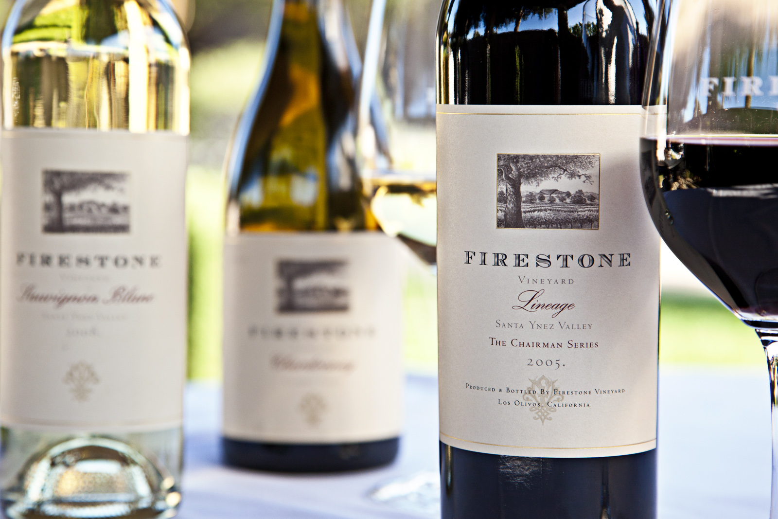 Firestone Winery, Product Shot. Central Coast.