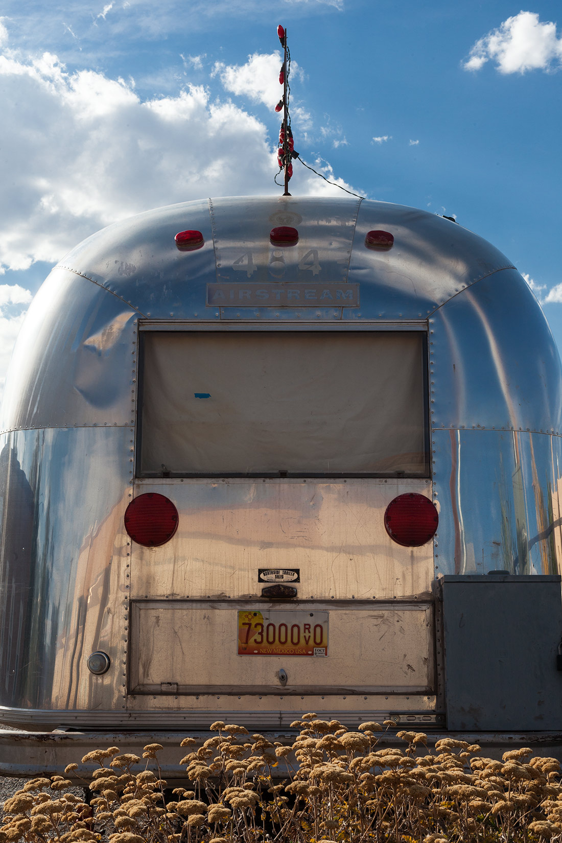 Vintage Airstream on the Streets of Albuquerque