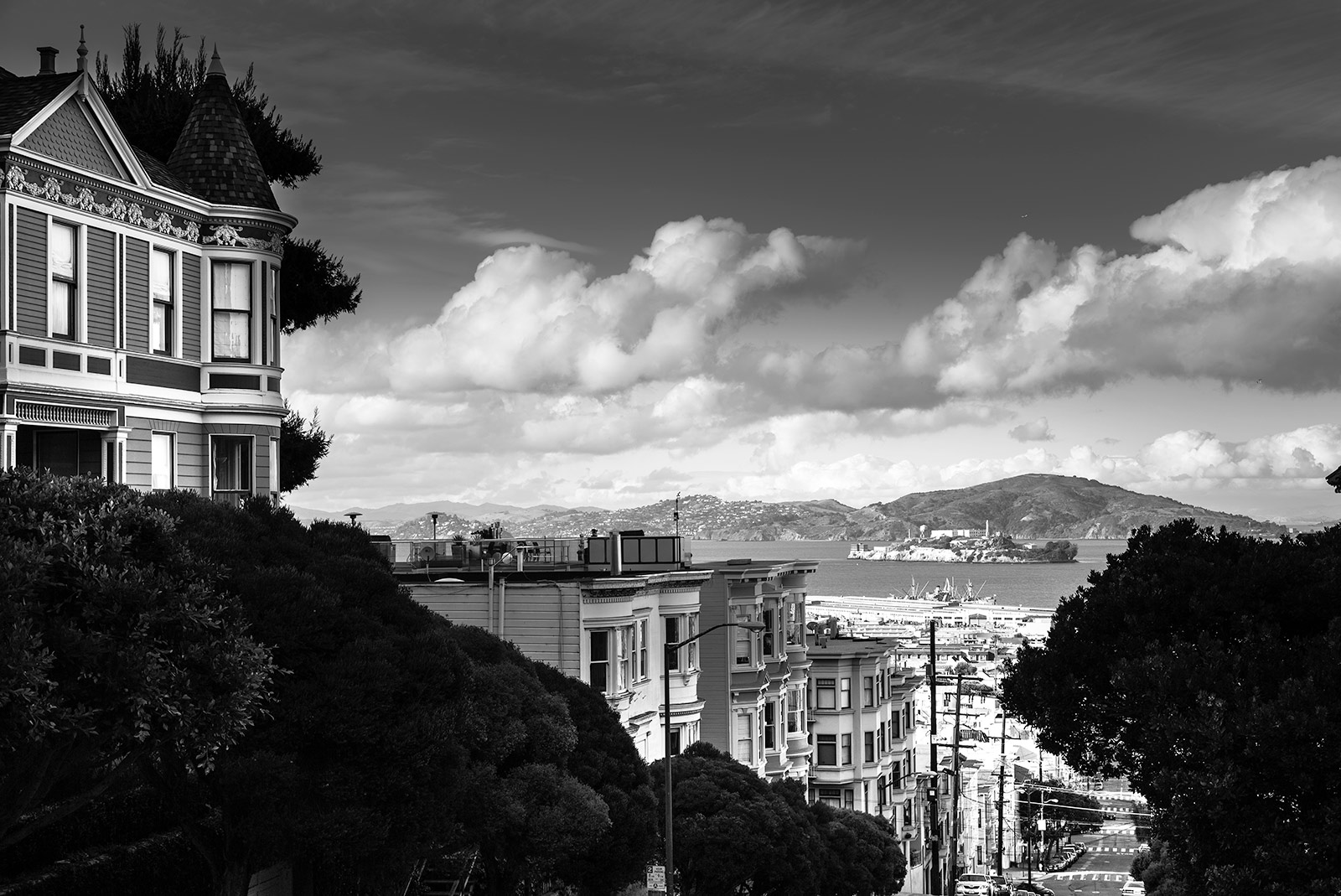 A different point of view of Alcatraz. San Francisco