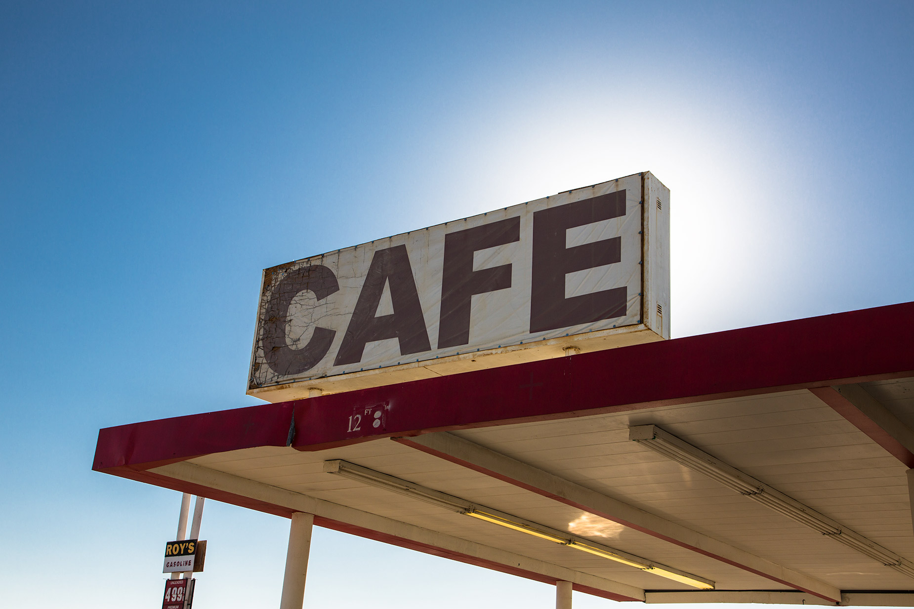 Cafe Vintage on the Route 66