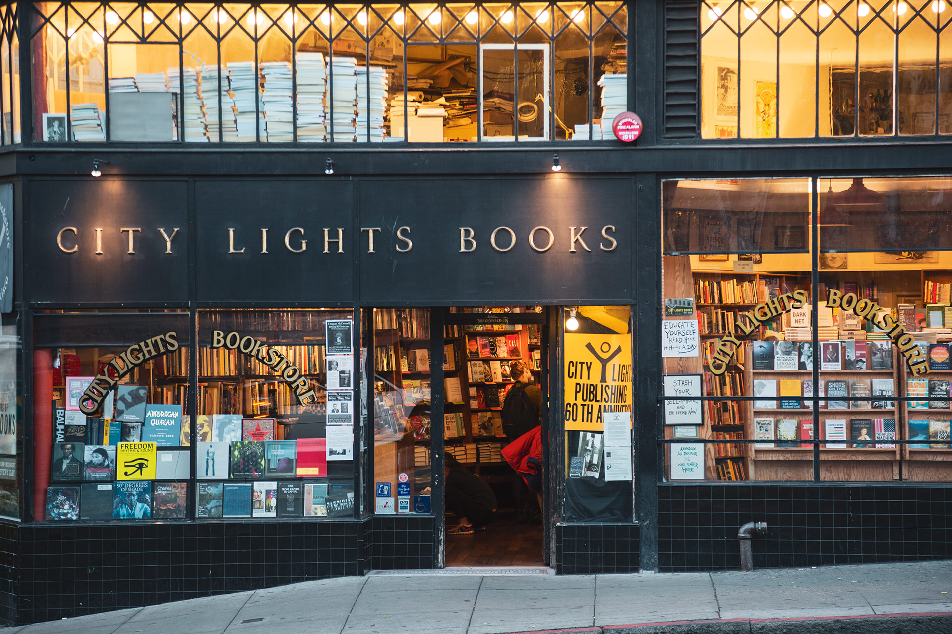 City Light Bookstore San Francisco