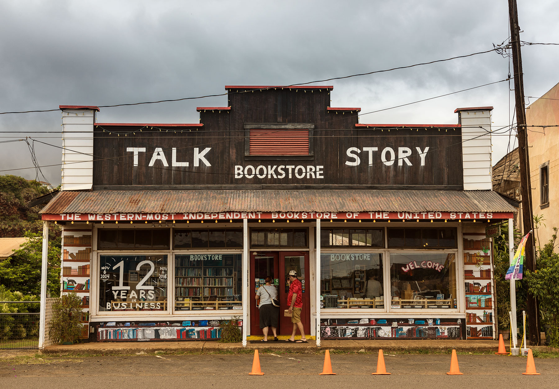 Local Bookstore in Hanapepe, Kauai