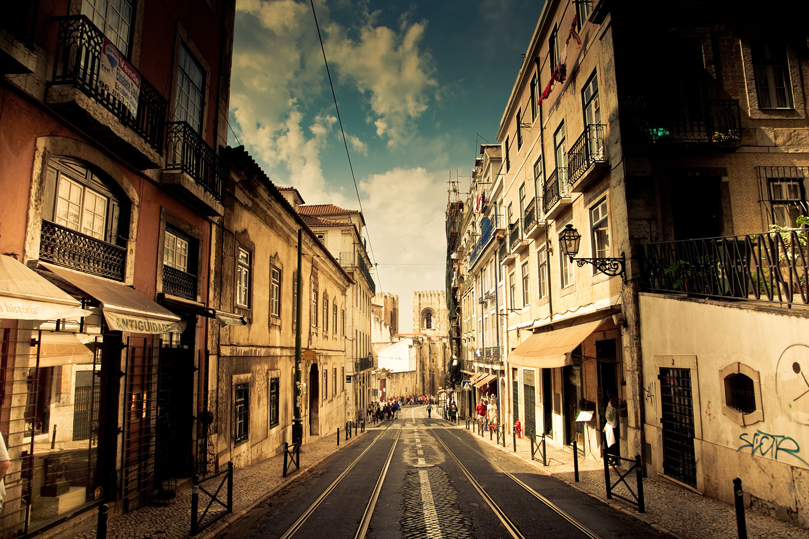 Typical Street in Lisboa