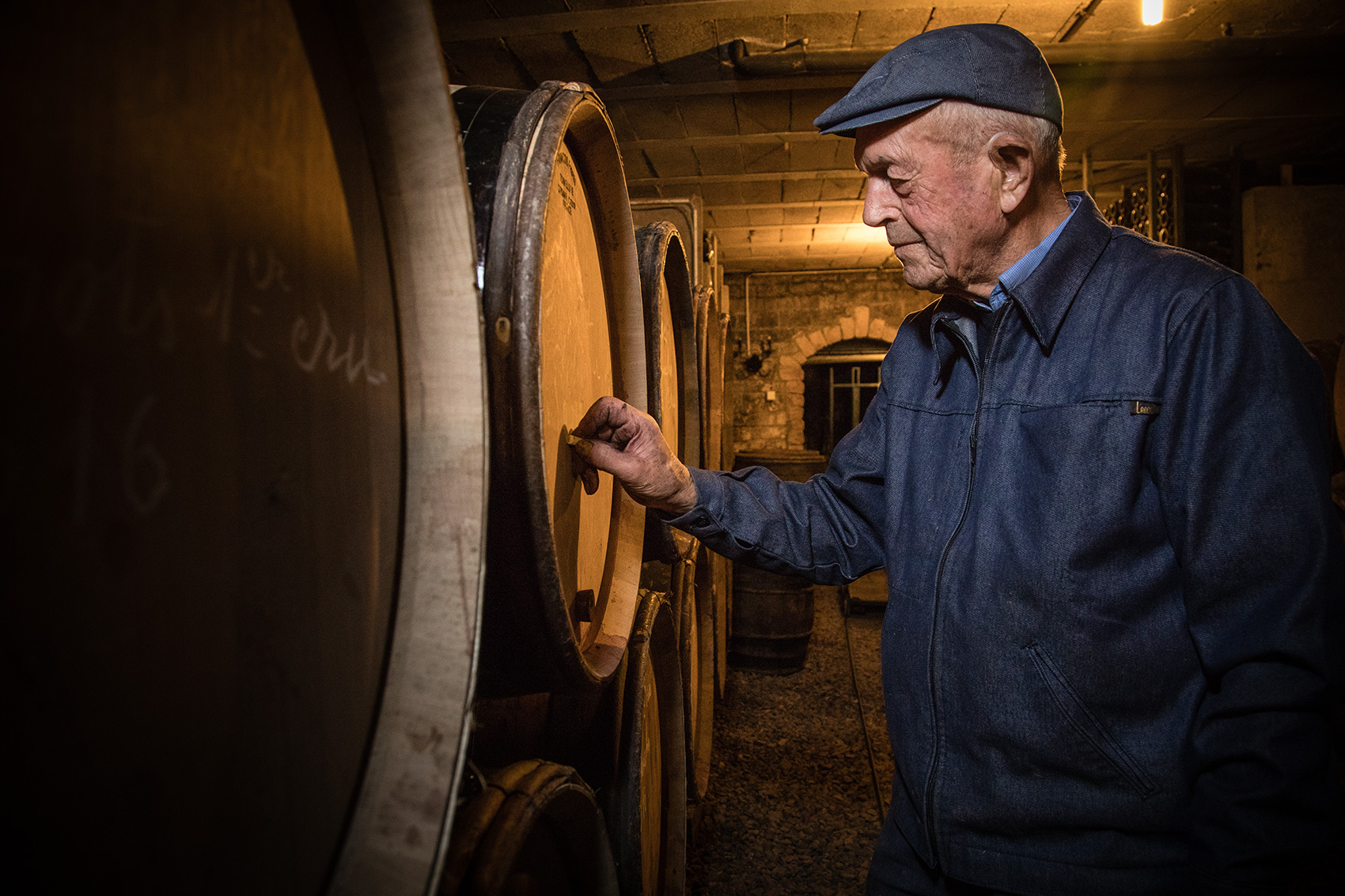 Michel Arcelain Winemaker. Burgundy