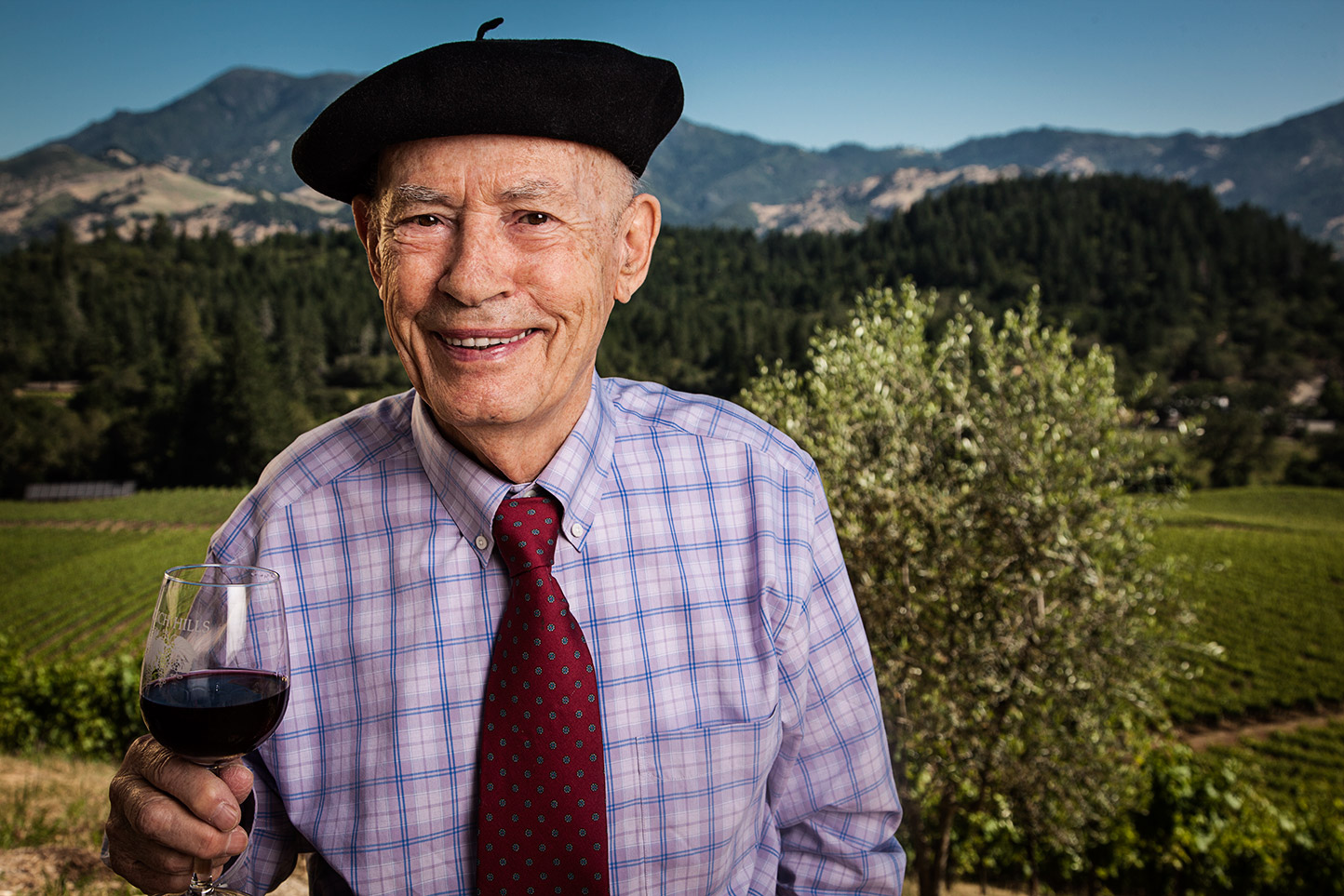 Mike Grgich Portrait: Rocco Ceselin Photography Portrait