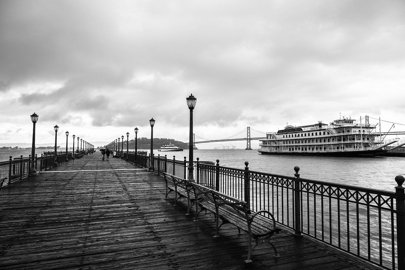 One of the Piers in San Francisco and La Belle
