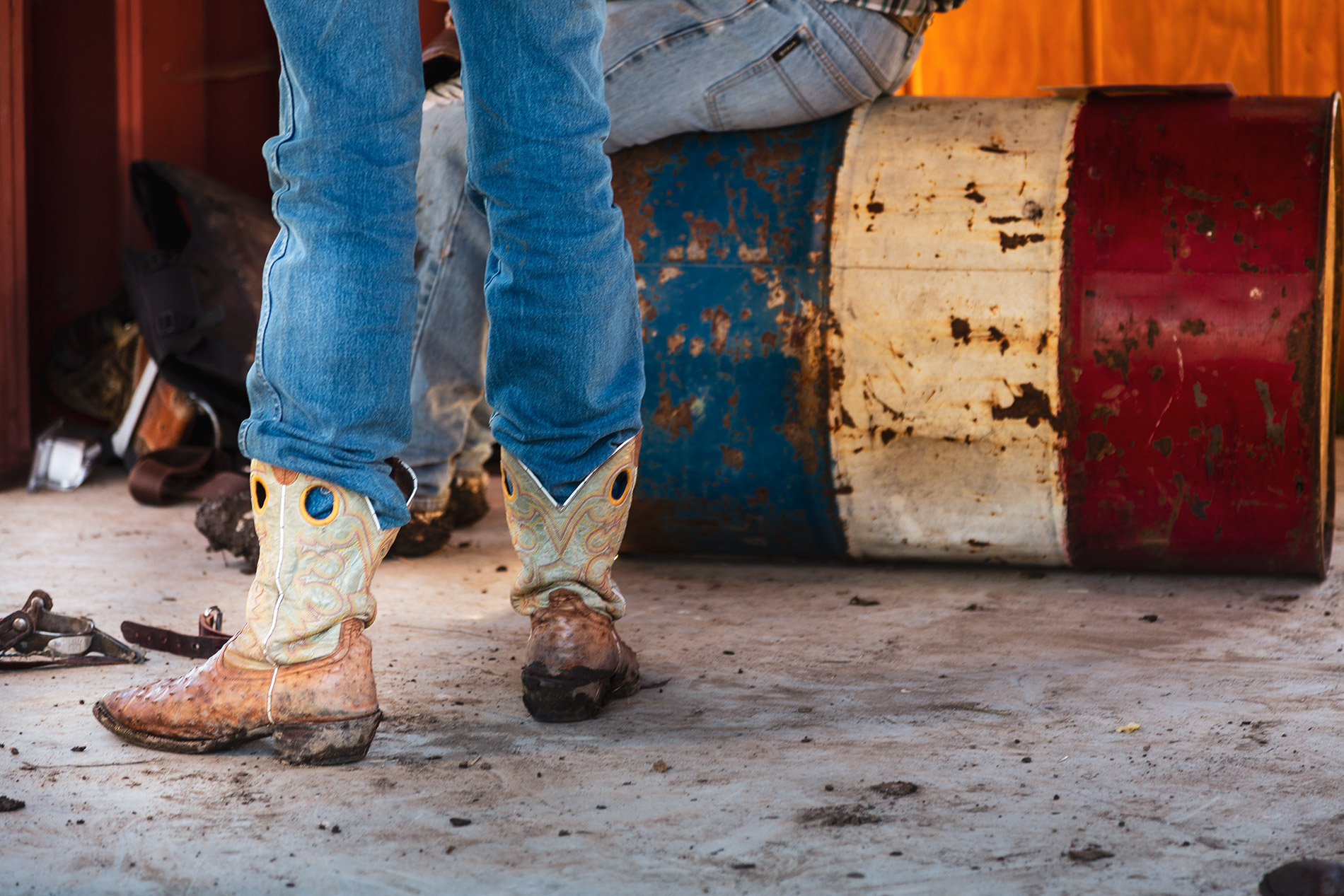 Rodeo Willits California Boots Cowboys