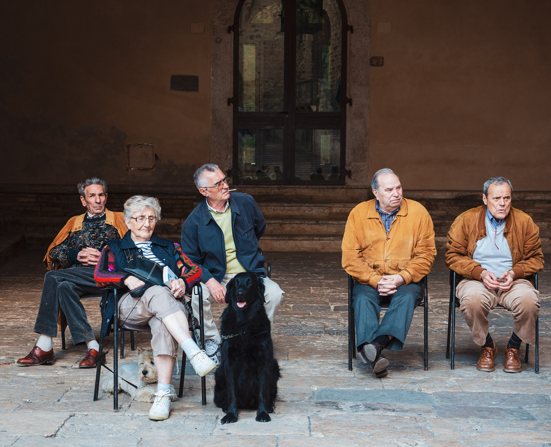 Siena and its people. lifestyle in Italy
